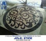 Marble Water Jet Medallion Inlay Natural Stone Mosaic Pattern