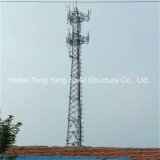 3 Legged Telecom Steel Lattice Mobile Communication Tower