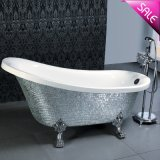 Luxury Massage Freestanding Free Standing Bath Tub for 1 Person