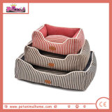 Hot Pet Bed in Blue Red and Brown