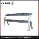 Tz-6032 Double Layer Dumbbell Rack Free Weight Gym Equipment