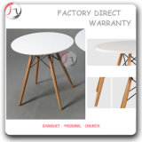 White Plastic Small Hotel Cocktail Table (BT-F02)