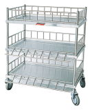 Medical Trolley for Infusion Bottles with Three Shelves