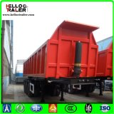 Semi Dump Trailers Mechanical Suspension for Goods Transporting