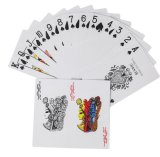 Gambling Paper Poker or Poker Sets or Russia Poker