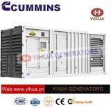Ccec Silent Container Canopy Prime Power 500-1200kw 50Hz Cummins Generaotor[IC180206c']