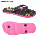 Customized EVA Unisex Beach Sandals Printed Sole Flip Flop Bath Slippers