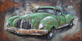 3D Metal Painting Reproduction Wall Decor for Cars