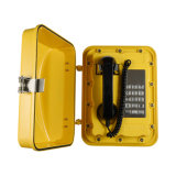 Outdoor Emergency Industrial Telephone Waterproof IP67 Wall Mounted Analog-VoIP Telephone Jwat301