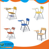 Factory Price School Study Training Chair with Writing Pad