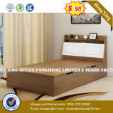 Japanese Style Tatami Wooden Bed with Wall Wardrobe (HX-8NR1072)