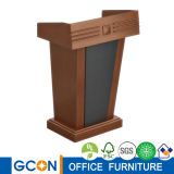 Wooden Church Podium Rostrum Speech Stand Modern Platform