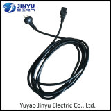 Factory Customized 3 Pins Power Cord with C13 C14 Connectors