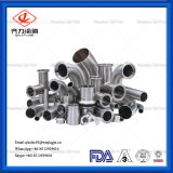 Sanitary Stainless Steel Polish Elbow Tee Butt Weld Pipe Fittings