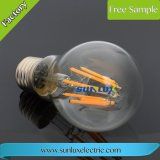 Dimmable A60 E27 4W-8W Warm White Filament LED Light Bulb