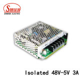 Smun SD-15c-5 48VDC to 5VDC 3A Isolated DC-DC Power Supply