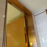 Elevator Frame Stainless Steel Door Cover Silver Colored Hairline Finish