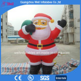 Giant Outdoor Inflatable Santa Clause Character for Christmas Event Decoration