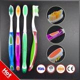 Wholesale FDA Certificated OEM PS Plastic Transparent Toothbrush