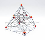 Popular Attractive Kid's Climbing Rope Obstacle Course Adventure Playground Equipment