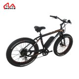 500W Large Power Mountain Fat Tyre Electric Bicycle