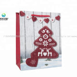 Cheap Promotional Recycled Customize Printing Christmas Gift Paper Bag