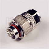 RF Coaxial Mini DIN 4.3/10 Plug Male-N Jack Female Connector Adapter for Cable