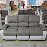 Living Room Manual Recliner Motion Sofa Set