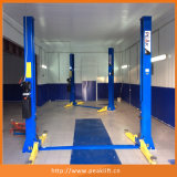 Heavy Duty Base Plate Two Post Auto Car Lift with Ce