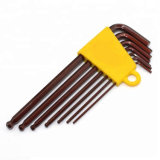 Brown Oxide Ball End Allen Key Wrench Set
