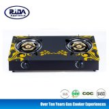 Cooking Appliance Glass Surface 2 Burner Gas Stove