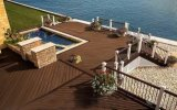 ASA-PVC Co-Extruded Exterior Landscape Wood Plastic Composite WPC Decking Floor Material Manufacturer in China