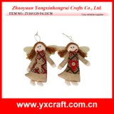 Christmas Decoration (ZY16Y135-5-6 23CM) Christmas Angel Gift Item Angel Wings