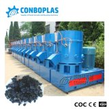 Waste Plastic HDPE Film PP Woven Bag Recycling Granulating Agglomerating Machine