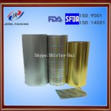 Printing Heatseal PVC Lacquer Aluminium Foil for Blister Packaging