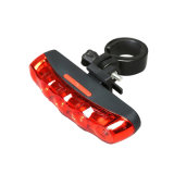 5PCS LED Bike Taillights Rainproof 6 Flash Modes Bicycle Safety Light for Cycling 2AAA Battery