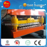 Glazed Tile Roof Panel Double Layer Cold Roll Forming Machine