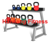 Fitness accessory, hammer strength weight plate, Commercial Kettlebell Rack (HR-003)
