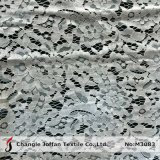Bridal White Floral Lace Fabric (M3083)