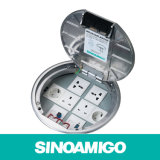 Aluminum Round Connection Outlet Box Rectangular Floor Box