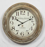 High Quality Roman Numeral Antique Wooden Clock