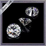 17mm Round Brilliant Cut Ef Vs Loose Moissanite Stone for Ring