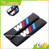 Wholesale Car Safety Seat Belt Shoulder Comfortable Pads Covers Cushion for Car Logo, Can Be Custom, Carbon