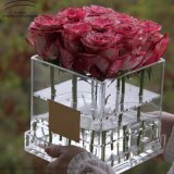 2017 Newest Design Acrylic Flower Box Rose Boxes