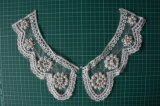 Beaded Lace Collar for Garment