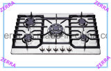 201/304 Level Stainless Steel Panel Kitchen Gas Hob (JZS75005)