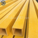 FRP Fiberglass Customized Square Tubes with Smooth Surface