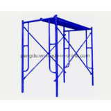 Painted and Galvanized Ladder Scaffolding System/H Frame Scaffolding for Sale