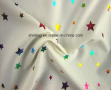 Woven 310t 100% Polyester Taffeta Colorful Foil Fabric for Dress