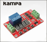 12V DC Multifunction Self-Lock Relay PLC Repeat Cycle Time Timer Switch Module